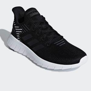 NWT Adidas Black Asweerun Sneakers Size 6.5